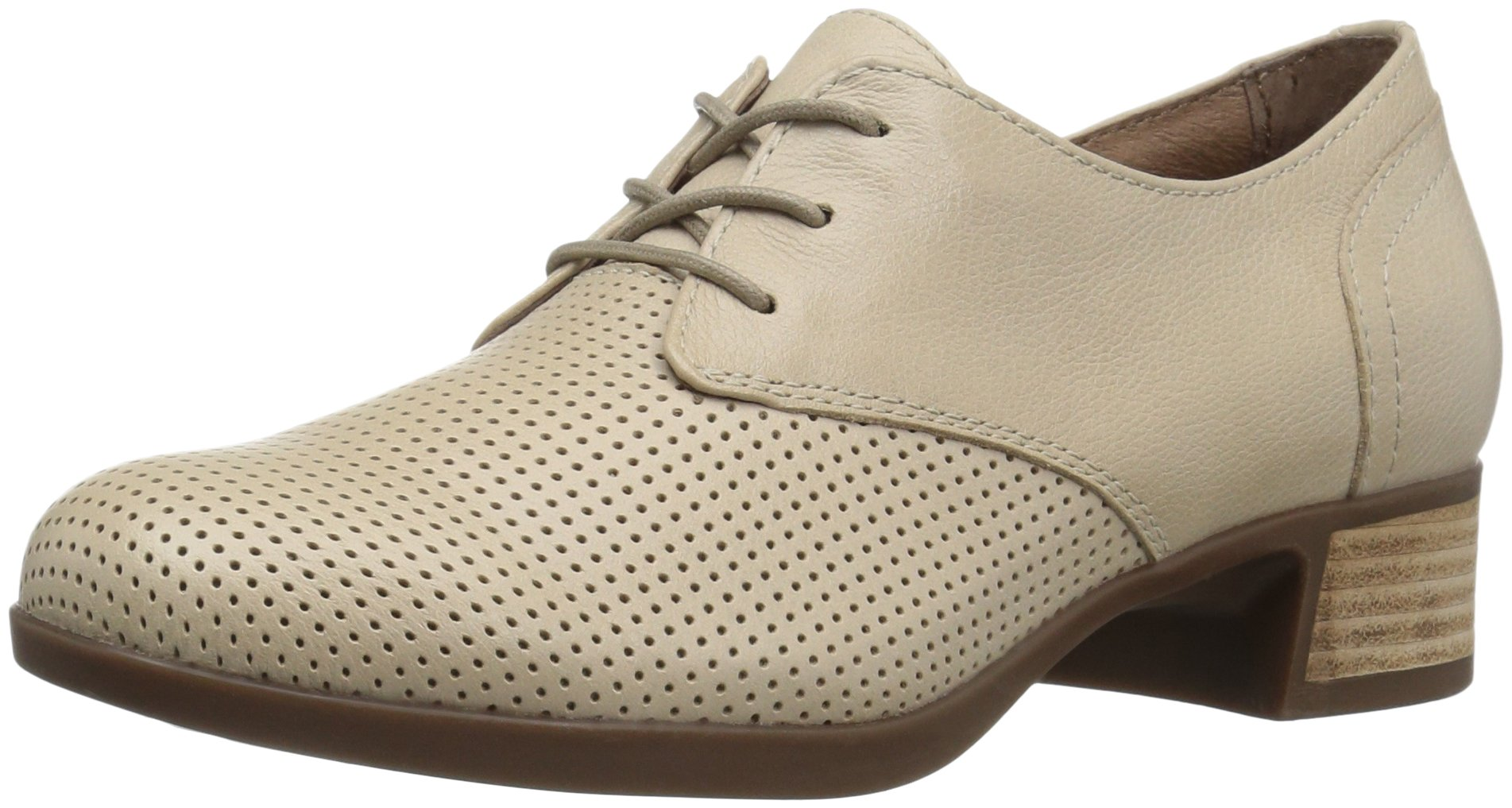 Dansko Women's Louise Oxford, Sand Burnished Nappa, 37 EU/6.5-7 M US