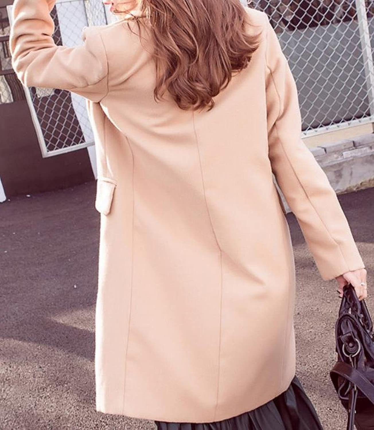 XTX Women's Casual Solid Colored Long Sleeve Coat Jacket