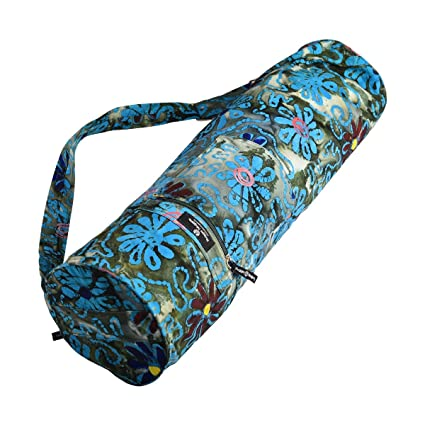 Hugger Mugger Batik Yoga Mat Bag - Earthy Daisy 797e9ff51d39d