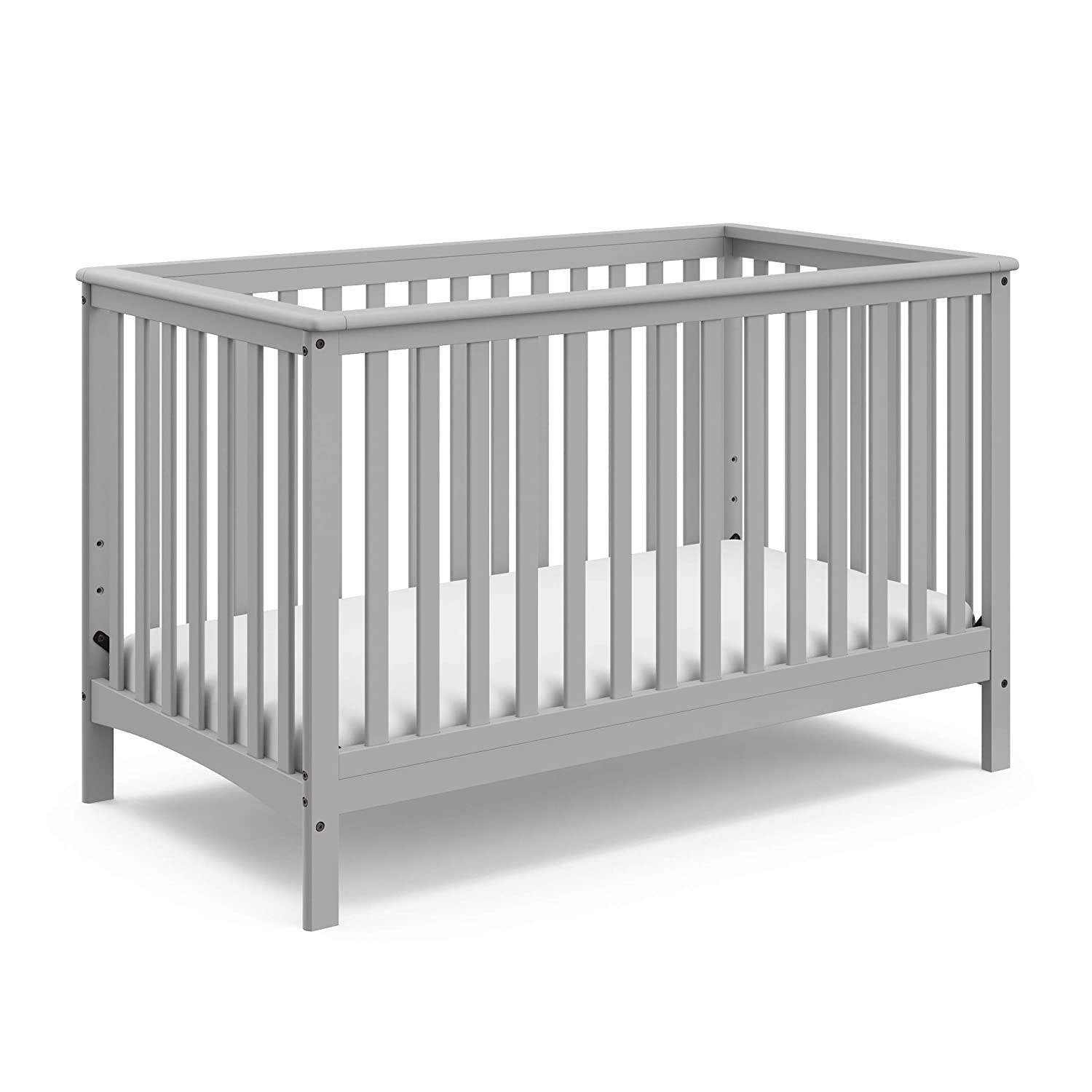 Marvelous Storkcraft Hillcrest Fixed Side Convertible Crib Pebble Gray Pdpeps Interior Chair Design Pdpepsorg