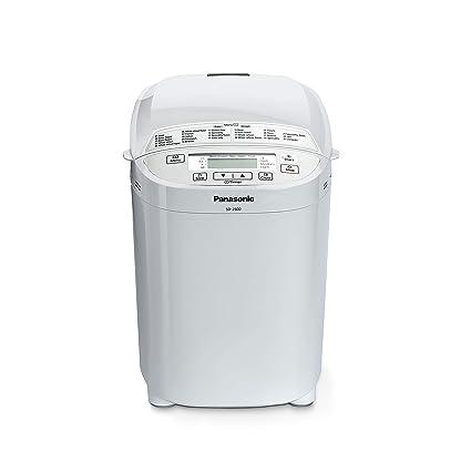 Panasonic SD-2500WXE Panificadora, 550 W, Color blanco