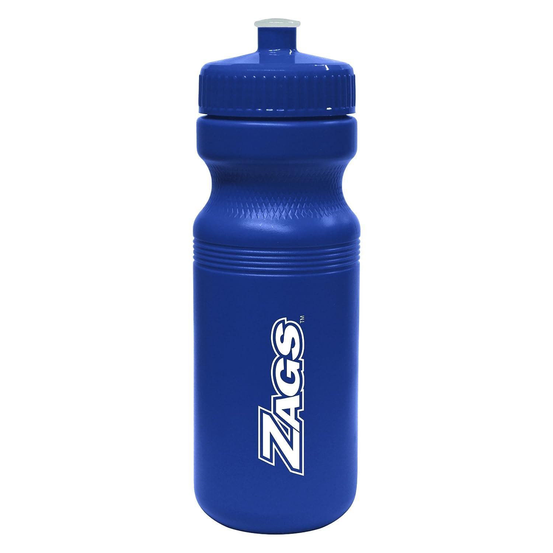 NCAA Gonzaga Bulldogs Opaque Squeeze Water Bottle 24-Ounce Boelter Brands 445523
