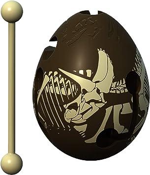 Smart Egg Dino - 3D Puzle de Laberinto y Juguete Educativo para Niños, Nivel 11 en Una Increíble Serie Rompecabezas - Desafío y Diversión en La Solución del Laberinto Dentro del Huevo:
