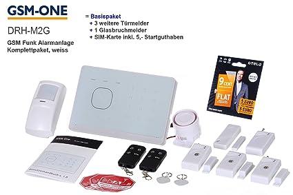 GSM de radio alarma M2G con voz en el paquete completo de ...