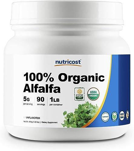 Nutricost Organic Alfalfa Powder 1LB