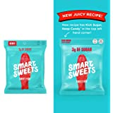 Keto-Friendly, Stevia Sweetened Sweet Fish Gummy Keto Candy Low Sugar, Low Carbs Pack of 4 (1.8 Ounce)
