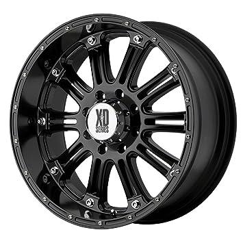 amazon xd series hoss xd795 gloss black wheel 18x9 8x6 5 H3 Wheels xd series hoss xd795 gloss black wheel 18x9 quot