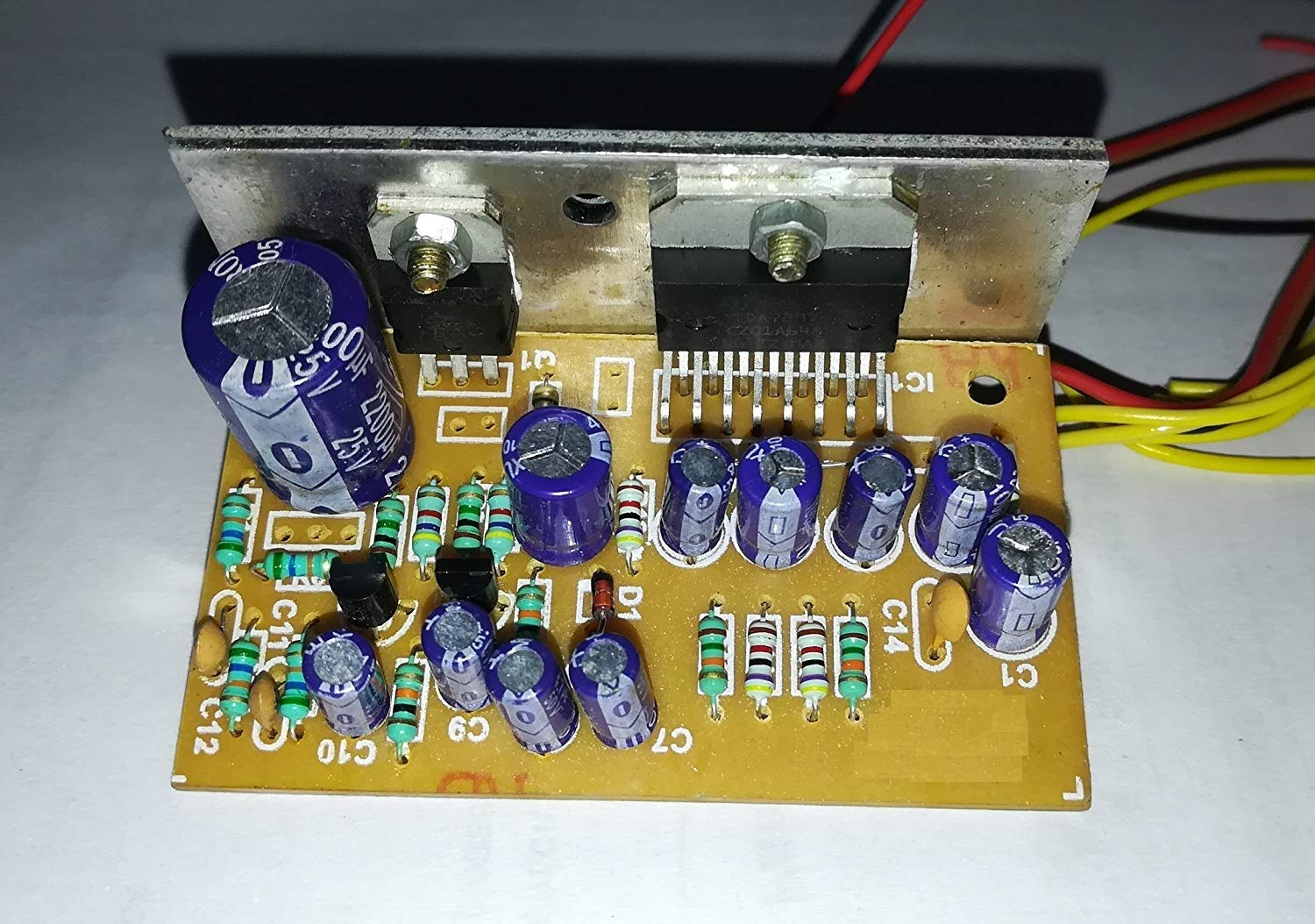 Salcon Electronics Tda7297 Low Noise Audio Amplifier Tone Control Circuit With Transistor