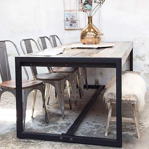 Giga Mesa de Comedor Industrial, 240 x 100 cm, Mesa de Comedor ...