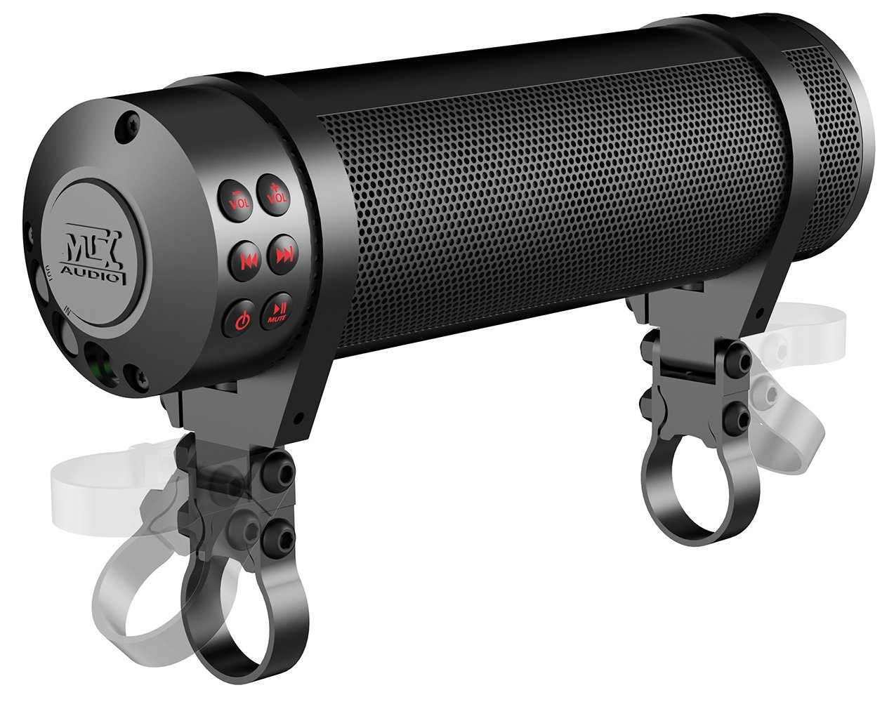 MTX MUDHSB-B Universal 6 Speaker All Weather Handlebar Sound System by MTX (Image #5)