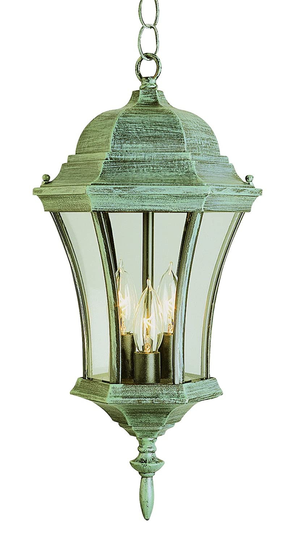 19.5 Trans Globe Lighting 4505 RT Burlington Outdoor Rust Traditional Hanging Lantern