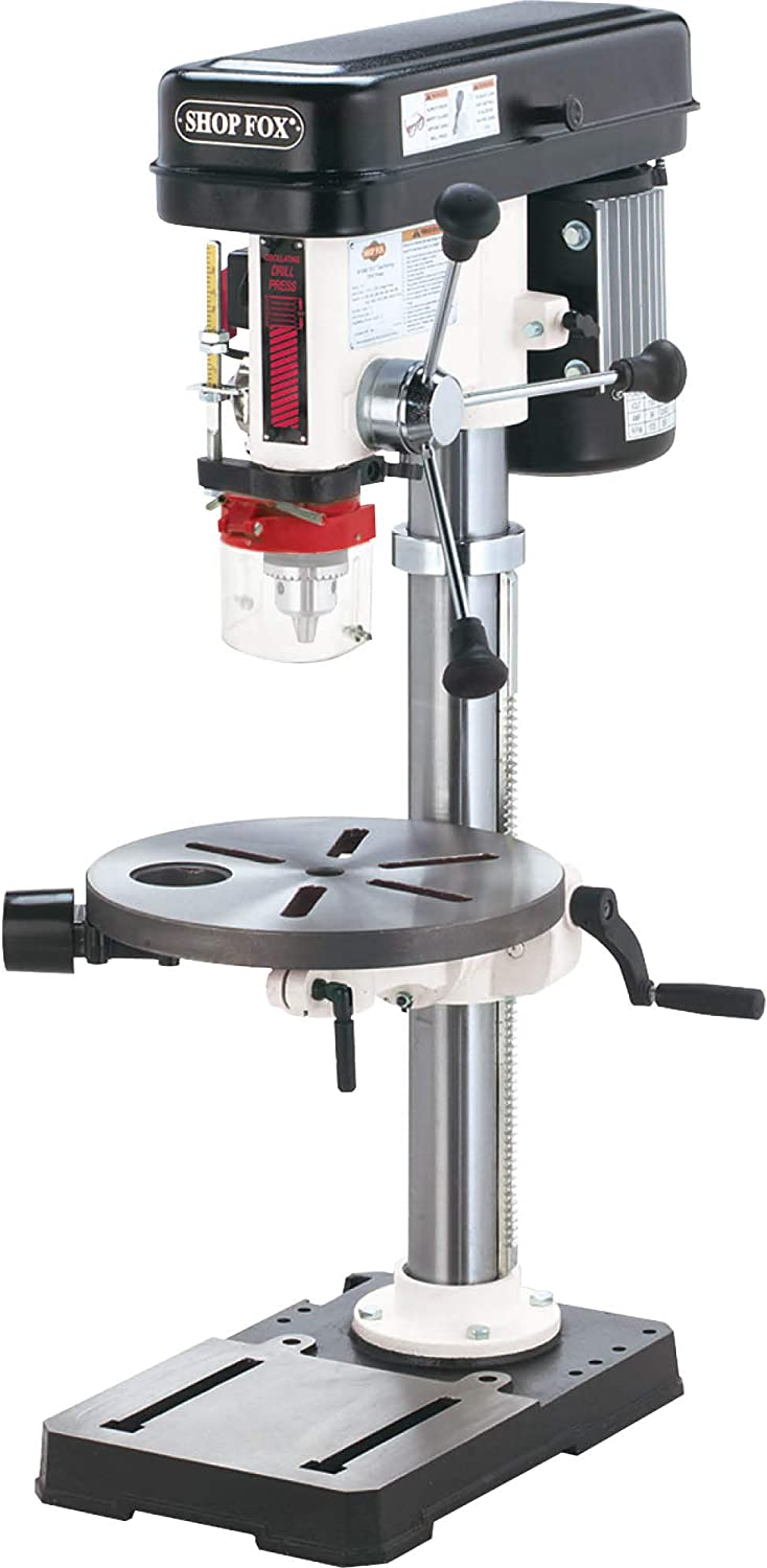 Best Woodworking Drill Press: Shop Fox W1668 ¾ HP 13