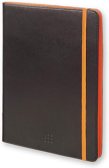 Moleskine 3700740349649 Universal Hülle Für Tablet 22 9 25 4 Cm 9 10 Zoll Schwarz Orange Bürobedarf Schreibwaren