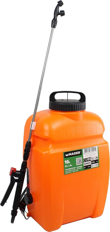 Mader Garden Tools 69091 Pulverizador con Batería, 16L, 12V, 8A