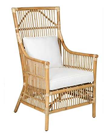 Peachy East At Main Franklin Brown Rattan Occasional Living Room Accent Chair 27X24X43 Ocoug Best Dining Table And Chair Ideas Images Ocougorg