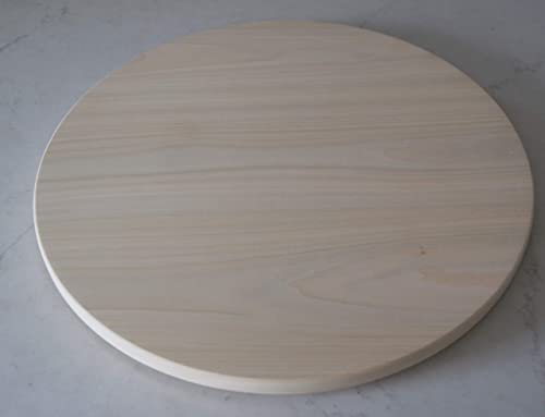 Amazon Com 22 Inch Poplar Lazy Susan Unfinished Ready For You To Paint Or Stain Handmade