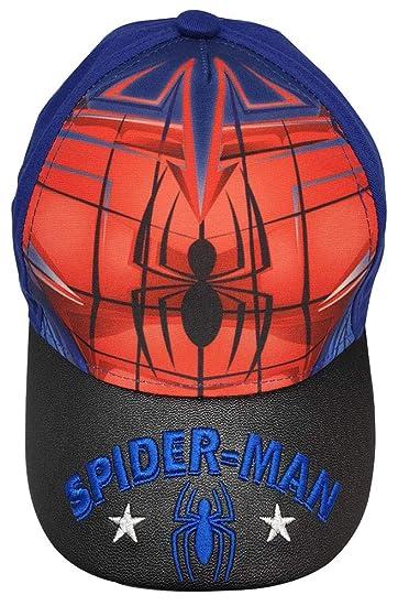Gorra Spider-Man Boys con Motivo de araña, Gorra de béisbol, Gorra ...