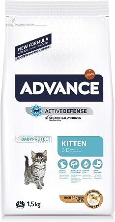 Advance Kitten - Pienso para Gatitos - 1.5 kg: Amazon.es ...