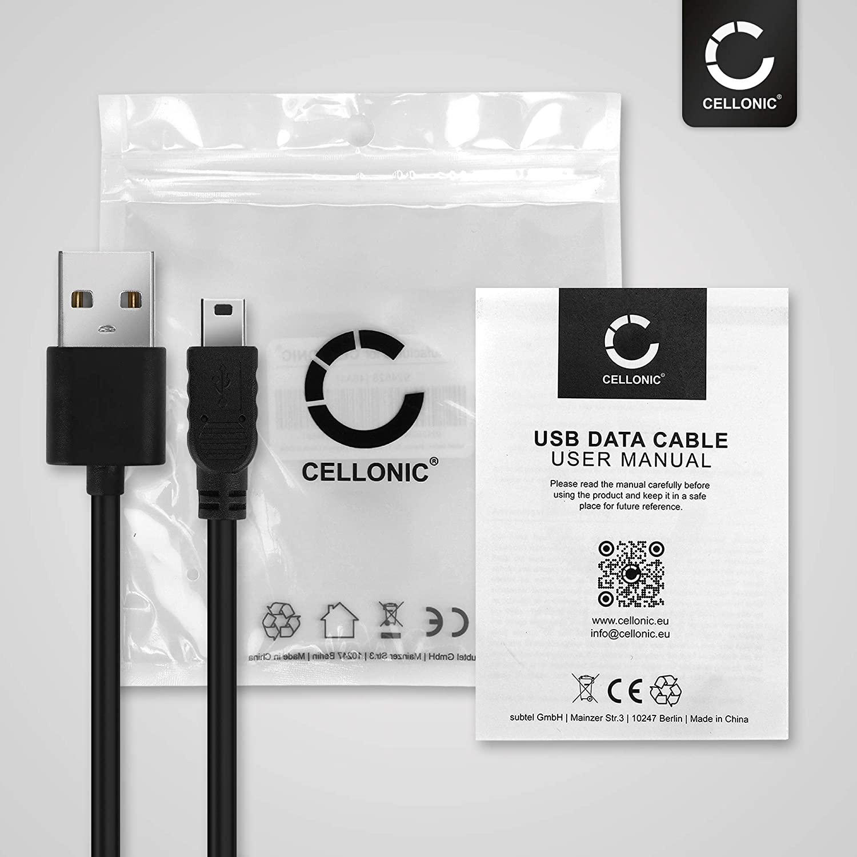 Cellonic Usb Kabel 1m Kompatibel Mit Garmin Edge Elektronik