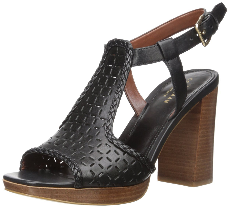 Cole Haan Women's Elettra High Platform Dress Sandal B015Q2ZMNG 9 B(M) US|Black