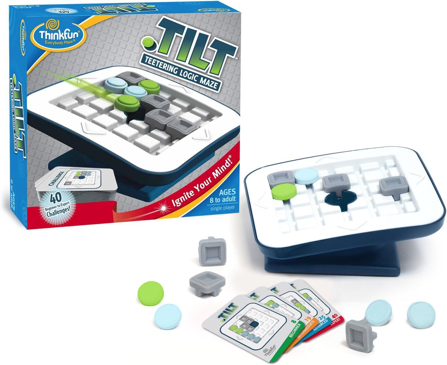 Think Fun - Tilt, Juego de Mesa en español (TF1001): Amazon.es: Juguetes y juegos
