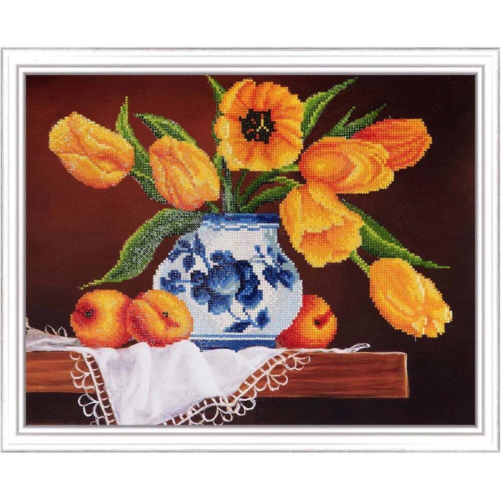 Diamond Dotz DD9.004 Int Yellow Tulips