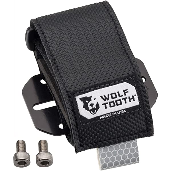 Negro Unisex Adulto Wolf Tooth B-RAD-3 Accesorio Portabid/ón M