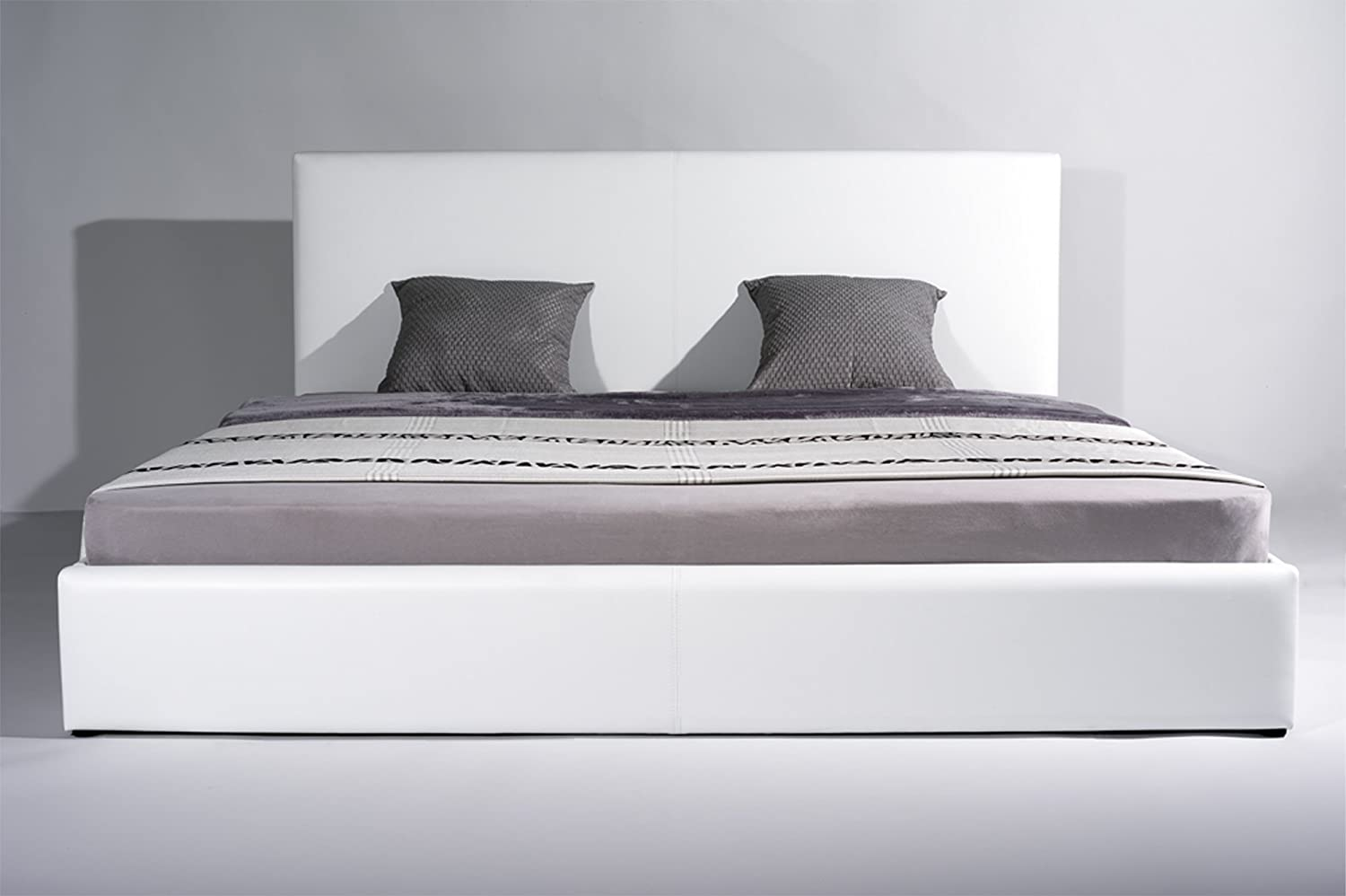 weies doppelbett great weies doppelbett with weies doppelbett cool bett vargo mdf weiss. Black Bedroom Furniture Sets. Home Design Ideas