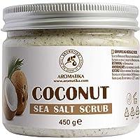 Kokos Scrub 450 g - 100% Natuurlijke Kokosolie Scrub - Body Scrub - Persoonlijke Verzorging - Huidverzorging…