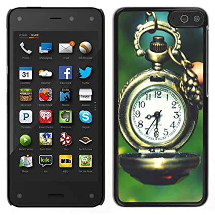 Retro Clock cartoon - - Slim Guard Armor Phone Case FOR