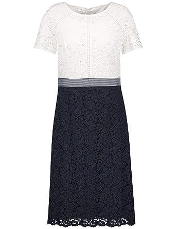 hot sales de095 0dc1d Gerry Weber Damen Kleid Gewebe Kleid aus Spitze ...