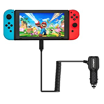 Lammcou Cargador de Coche USB para Switch DC Car Charger ...