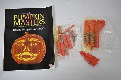Amazon.com: pumpkin masters® deluxe pumpkin carving kit: 21 pieces