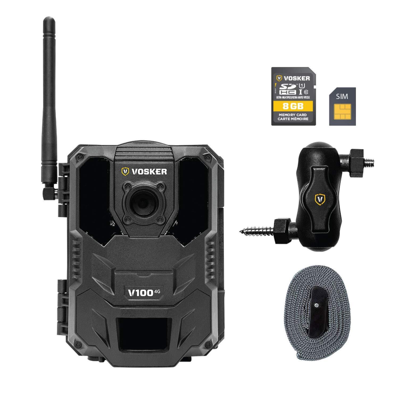 Amazon.com: Vosker V100 - Cámara de seguridad para ...