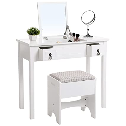 for architecture mirrored with dressing drawer plans info drawers picture white vanity table hendoevanburgh recessed madison glass