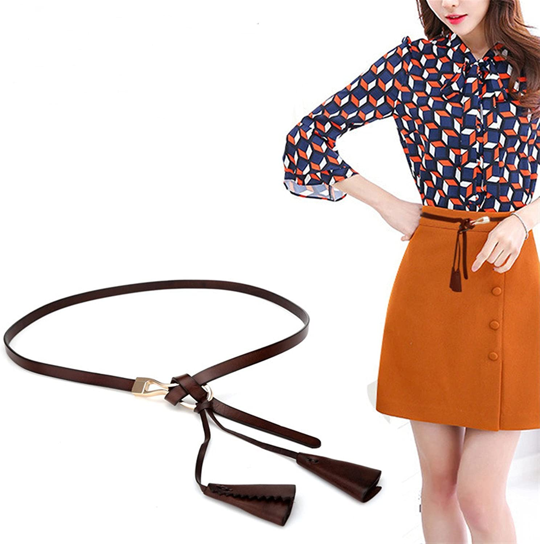 KEBINAI Fashion Woman Genuine Leather Belt Cowskin Floral Female Belts For Dress