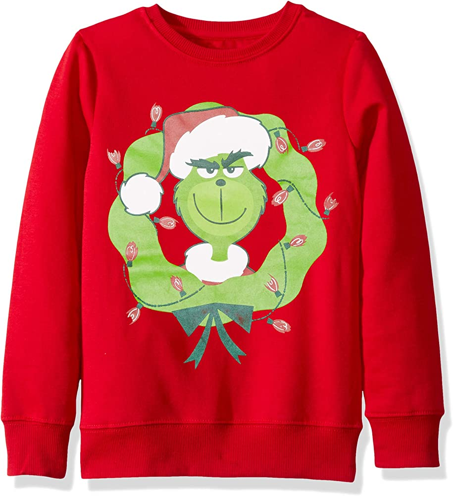Dr Seuss Girls Big Ugly Christmas T-Shirt