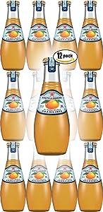 San Pellegrino Aranciata Sparkling Orange Flavoured Beverage, 6.75 Oz Glass Bottle (Pack of 12, Total of 81 Oz)