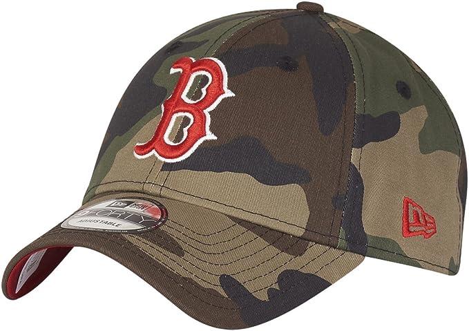 NEW ERA 9FORTY CAP CAMO TEAM BOSTON RED SOX