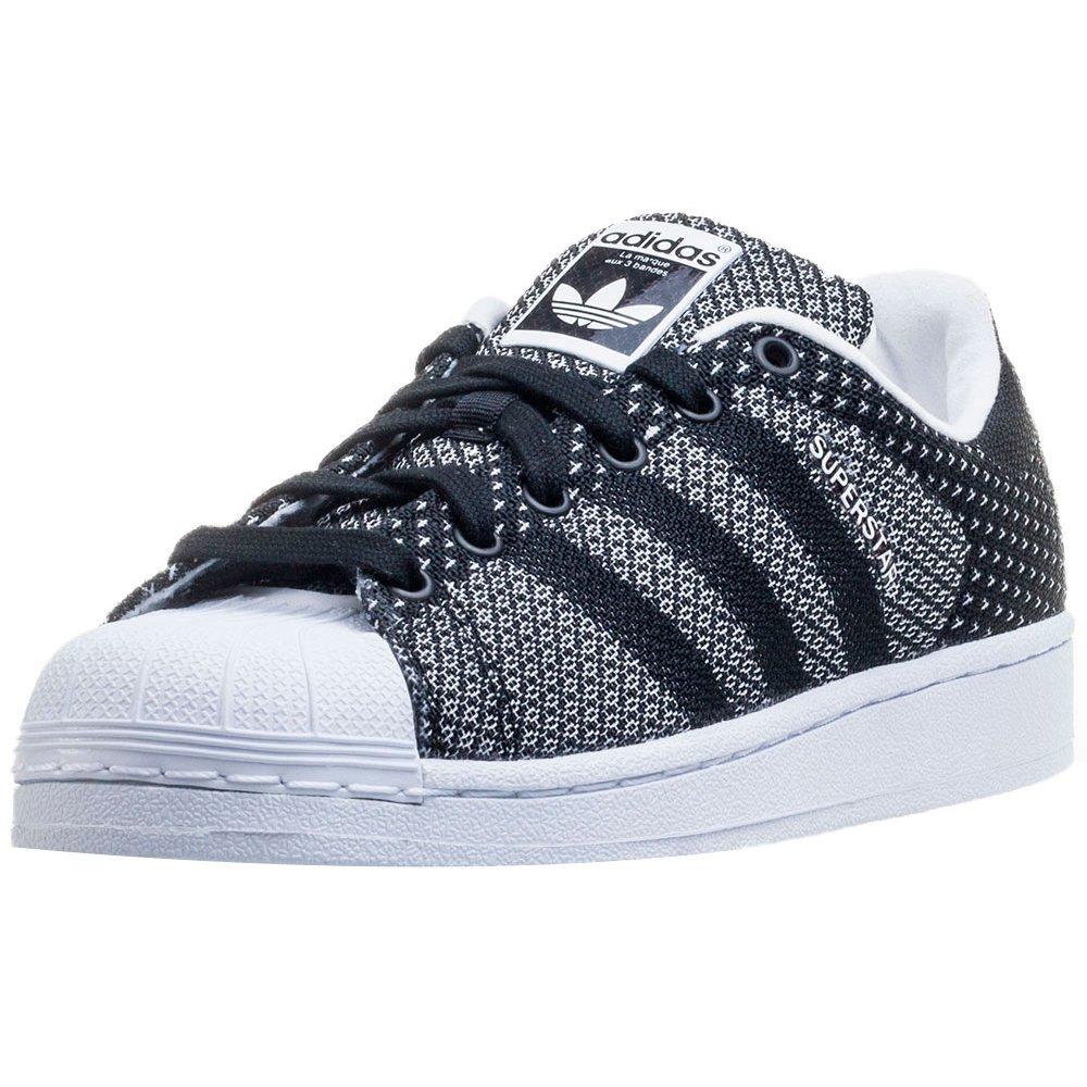 adidas Superstar Weave, Superstar Weave Femme - Noir - Noir/Blanc, 39 1/3 EU: Amazon.fr: Chaussures et Sacs