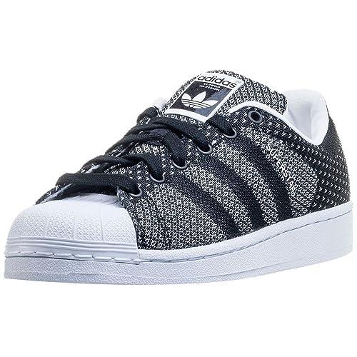best website 15114 5bbfc Adidassuperstar Weave - Superstar Weave Mujer, Color Negro, Talla 39 1 3  EU  Amazon.es  Zapatos y complementos
