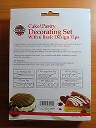 Amazon Com Norpro Piece Cake Decorating Set Pastry Bag