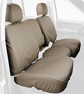 Taupe SS2388PCTP Covercraft Custom-Fit Front Bucket SeatSaver Seat Covers Polycotton Fabric