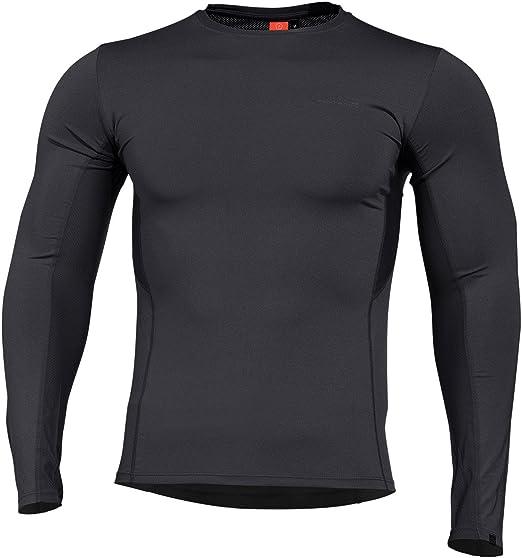 Pentagon Apollo Tac Fresh Activity Mens Shirt Base Layer Top Long Sleeve Coyote