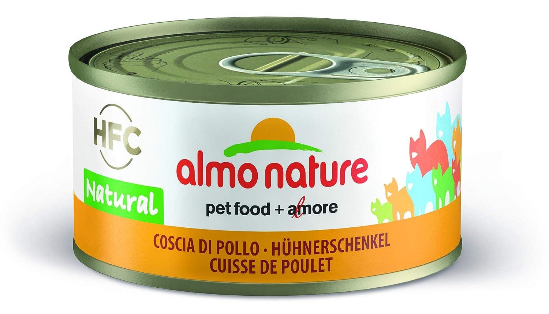 Almo Nature gato adulto Pollo baquetas 70 g x 12: Amazon.es: Productos para mascotas