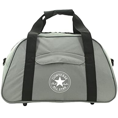 Converse Unisex Playbook Bowler Bowling Shoulder Travel Carry On Bag -  Grey  Amazon.co.uk  Clothing 77d5628d1d1bb