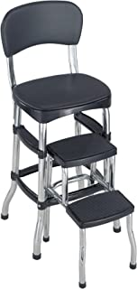 Cosco Black Retro Counter Chair / Step Stool Black  sc 1 st  Amazon.com & Amazon.com: Cosco Retro Counter Chair/Step Stool Red: Home ... islam-shia.org
