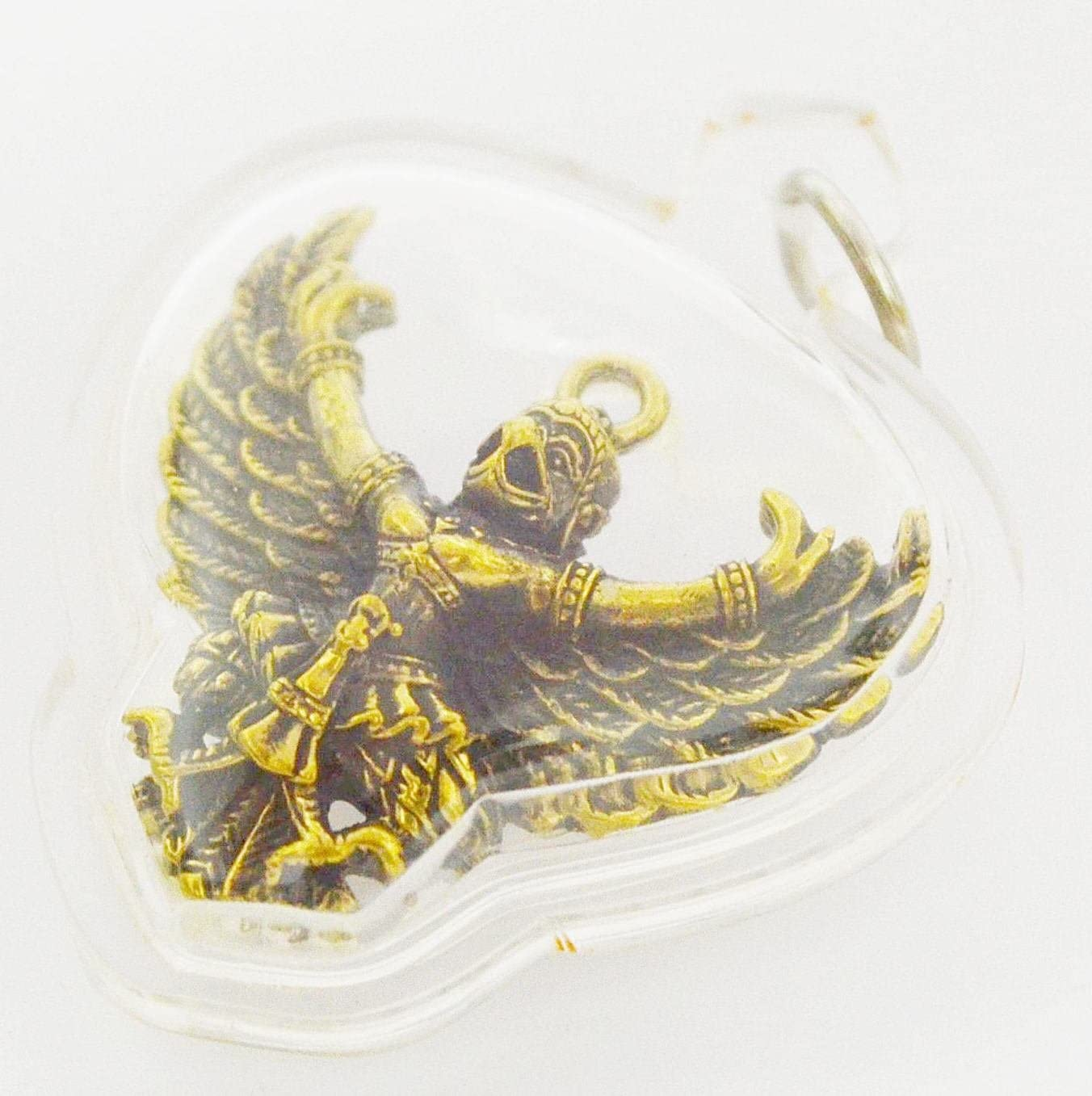 Figurine Statuette Wasp Hornet Magic Black Thai Thailand Buddhism Brass