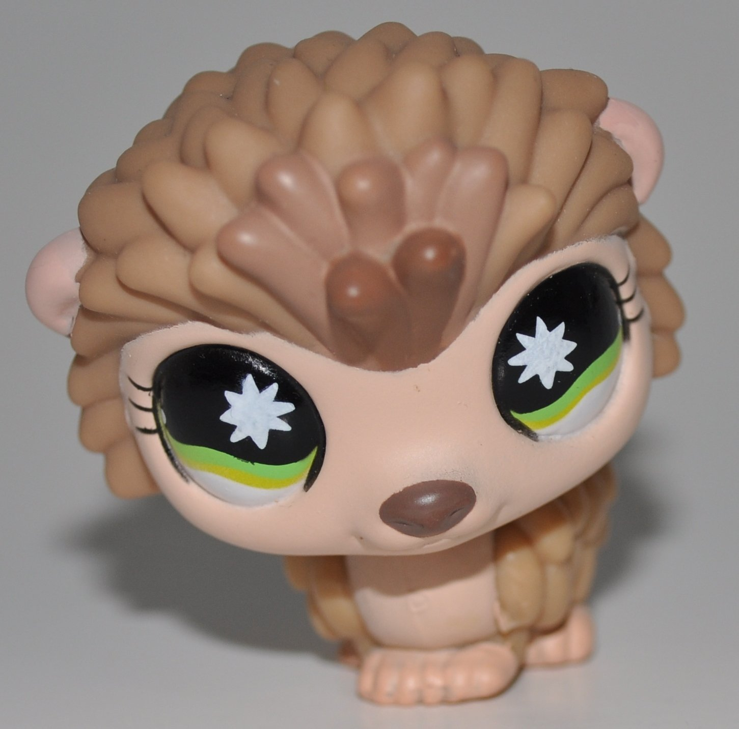 OOP Out of Package /& Print LPS Collectible Replacement Figure Porcupine #861 Loose Tan, Green Eyes Retired - Littlest Pet Shop Collector Toy