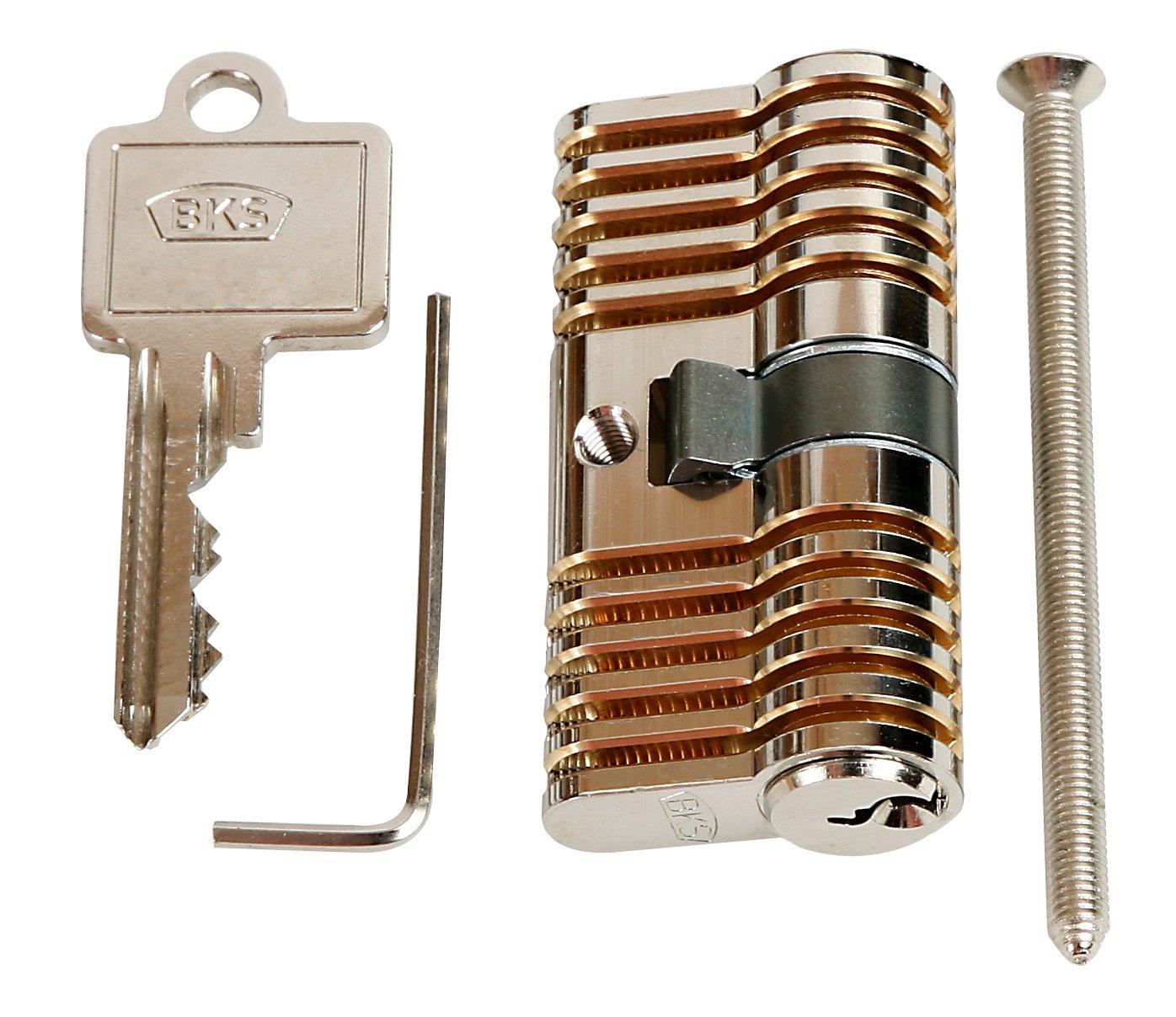 Cerradura cil/índrica Multipick/MK2 30//30 para pr/áctica con ganz/úas